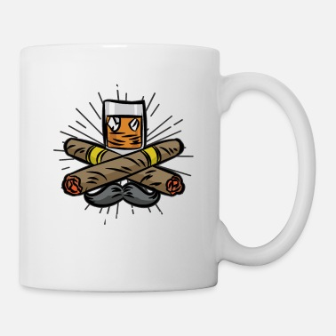 Cigar Club GENTLEMENS CLUB - Whiskies & Cogars - Mug