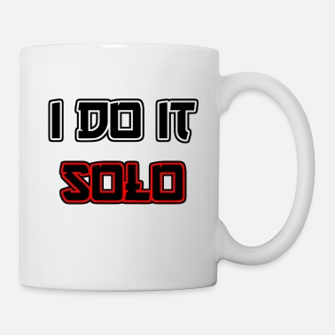 I do it solo - Mug