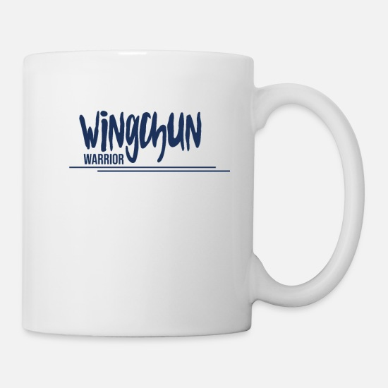Martial Arts Mugs & Drinkware - Martial Arts Wing Chun WingTsun WingChun Martial Arts - Mug white
