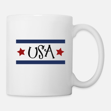 York USA with stars - Tasse
