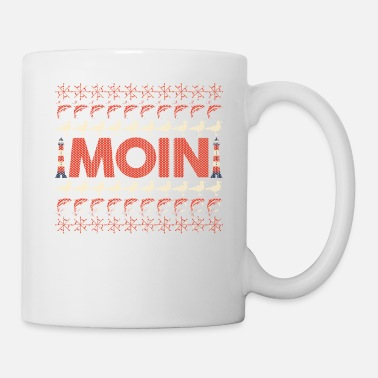 Baltic Sea North German Platt saying gift · Moin - Mug