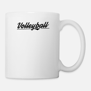 Volleyballer Team Vollyball Spieler Volleyball - Tasse