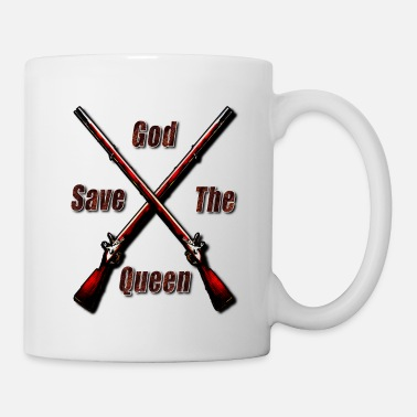 God Safe the Queen British England - Mug