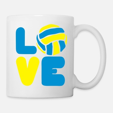 Waterpolo volleyball waterpolo love mot aime sport 0 - Mug
