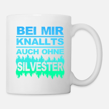 Frohes Neues Jahr Silvester Frohes Neues Jahr Silvester Party Knall - Tasse