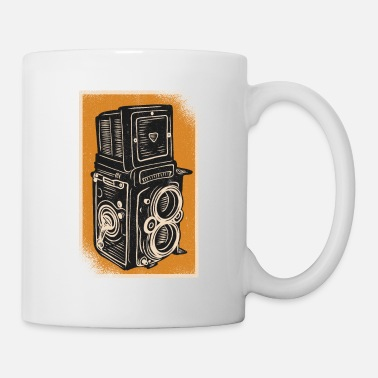 Appareil photo Vintage Rolleiflex Camera - Mug