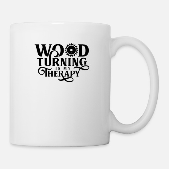 Gift Idea Mugs & Drinkware - wood turning - Mug white