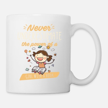 Smart Never underestimate the power of a girl with a - Tasse