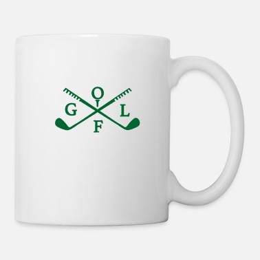 Golf Instrution Golf club - Mug