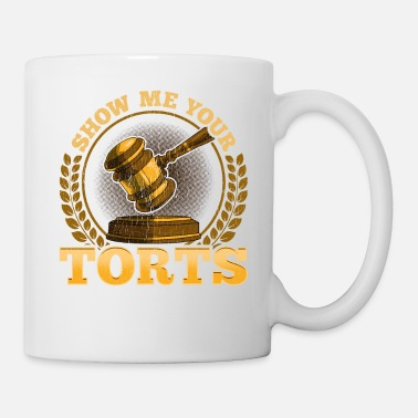 Mot Funny Show Me Your Torts Lawyer Pun Attorney Law - Mug