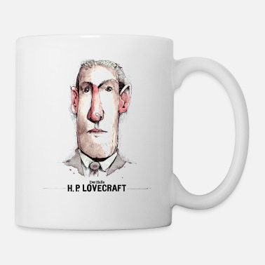 HP Lovecraft (Cthulhu) - Mugg