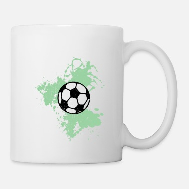 Goalkeeper Football watercolor green - Mug