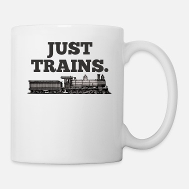 Railroad Love Railroad locomotive Dear railroad friends, funny - Mug