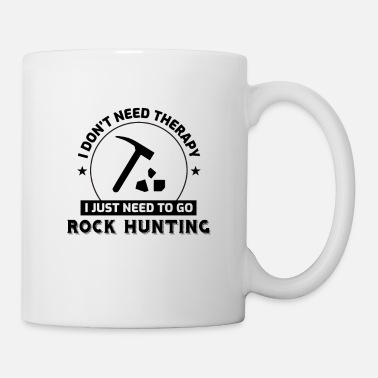 Miner Rock Collecting Funny Geology Mineral Rockhound - Mug