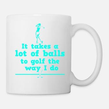 Iron Metal Golf golf father golf player - Mug