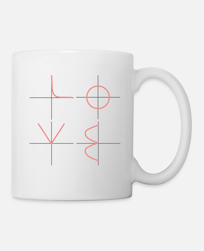 Engineering Mugs & Drinkware - Love - math engineer - Mug white