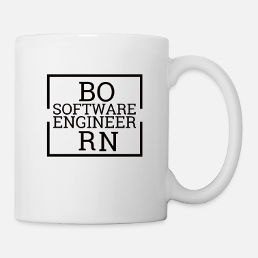 Software Born software engineer | Computer science - Mug