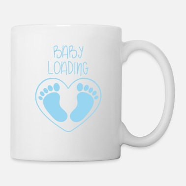 Baby Loading Pregnancy Boy Boy - Mug