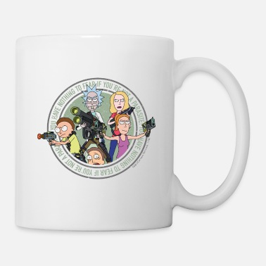 Morty Smith Rick And Morty Freunde Und Andere Parasiten Tasse - Tasse