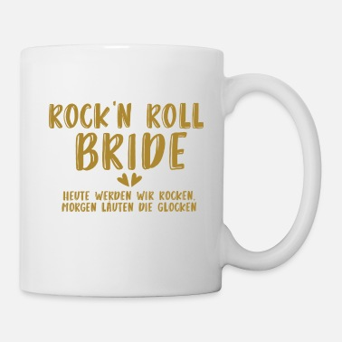 Vrijgezel Rock'n Roll Bride - JGA - Gold Series - Mok