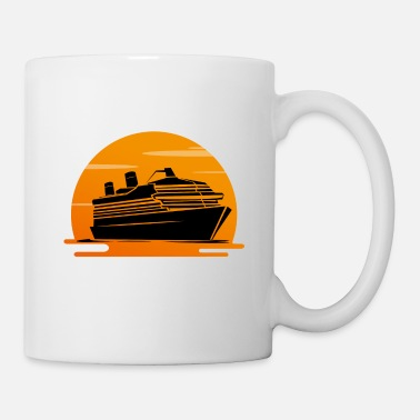 Cruise Ship Cruise holiday ship cruise ship - Mug