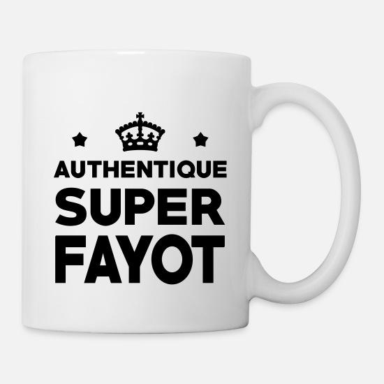 Fayot Fayote Humour Prof Ecole Patron Mug blanc blanc