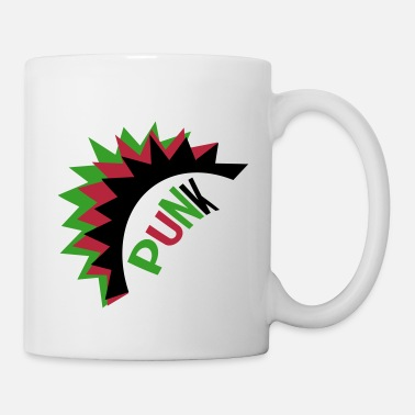 Punk Rock Rock'n'roll Metal Punk Music Rebellion - Mug