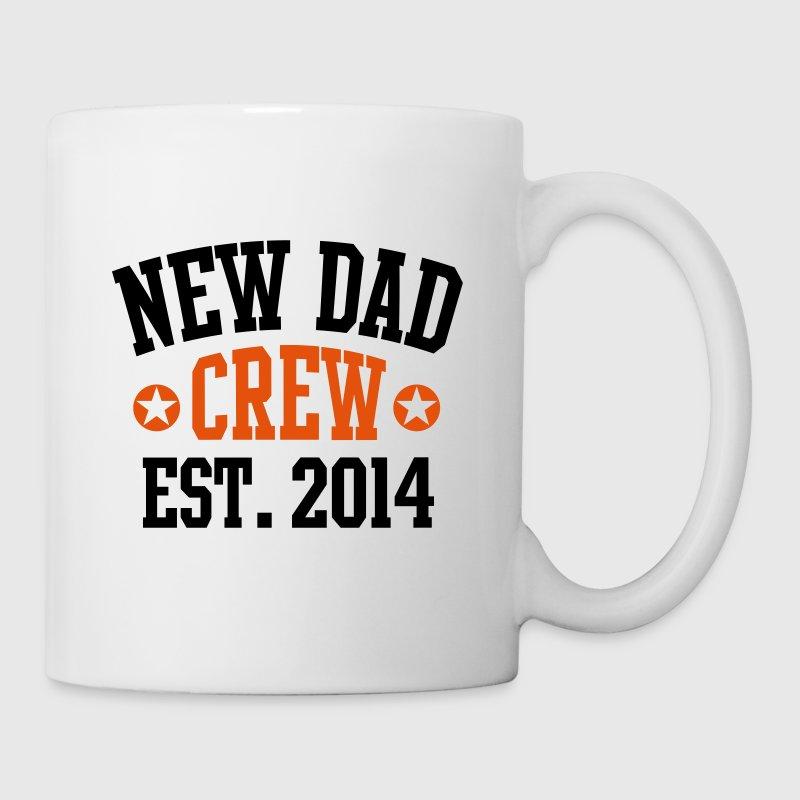NEW DAD CREW Established 2014 2C von PAPA-Daddy-Shirts | Spreadshirt