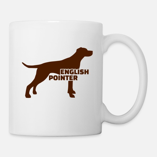 Pointer Mugs & Drinkware - English Pointer - Mug white