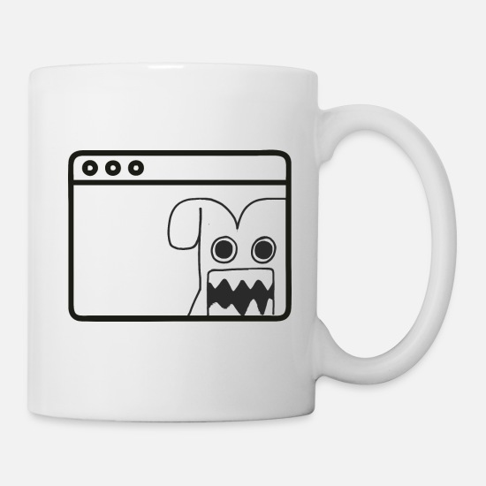 Crawler Mugs & Drinkware - bug of - Mug white