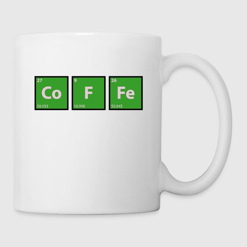 Coffee coffee periodic table chemistry by lovetee spreadshirt coffee coffee periodic table chemistry mug urtaz Choice Image