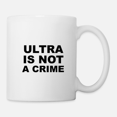 Ultras L'Ultra n'est pas un crime Le football d'Ultras Hooligan - Mug blanc