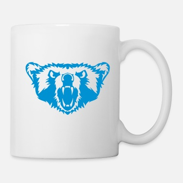 Marine Animal animal bear savage 407 - Mug