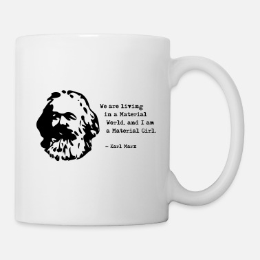 Communism Funny saying by Karl Marx, Communism - Mug