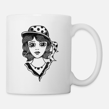 Classic 20s woman with hat gift - Mug