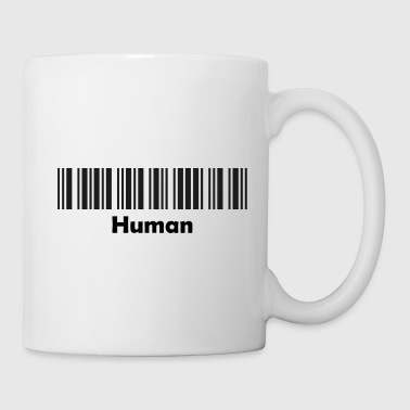 Made In Germany Human schwarz - Tasse