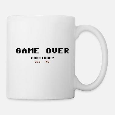 Game Over Game Over Sí No - Taza
