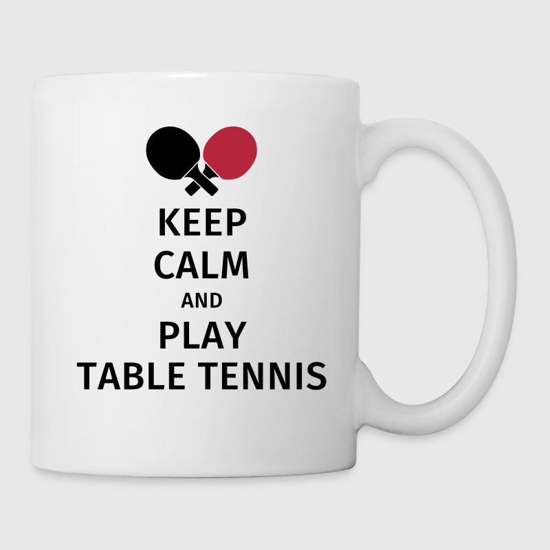 keep calm and play table tennis - Mug