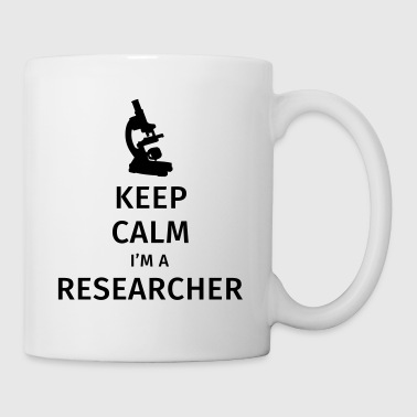 Keep Calm I'm a Researcher - Kubek