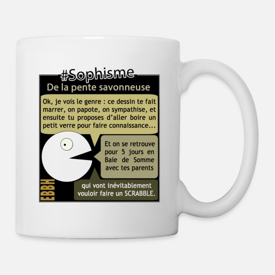 Good Mood Mugs & Drinkware - The soapy slope - Mug white