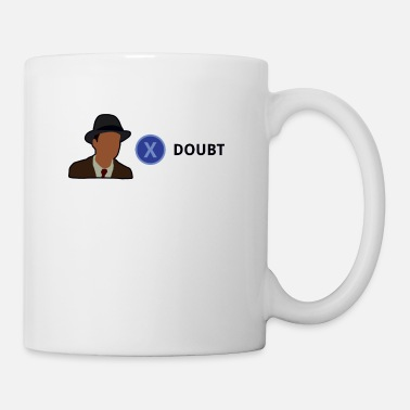 Meme Meme Press x to doubt - Mug