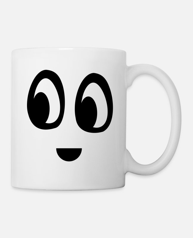 Mood Mugs & Drinkware - Funny face - Mug white