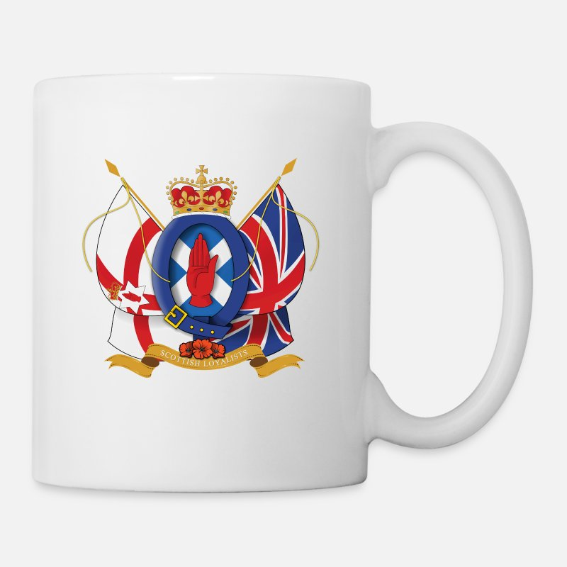 British Mugs & Drinkware - Scottish Loyalists - Mug white