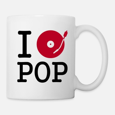 Musique i dj / play / listen to pop - Mug
