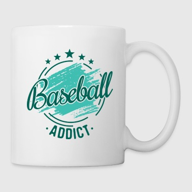 Baseballer Team Shirt Funny Nerdy Cool regalo - Tazza