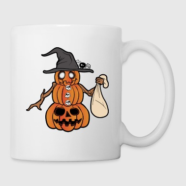 Kürbis Halloween Monster Zombie Horror - Tasse
