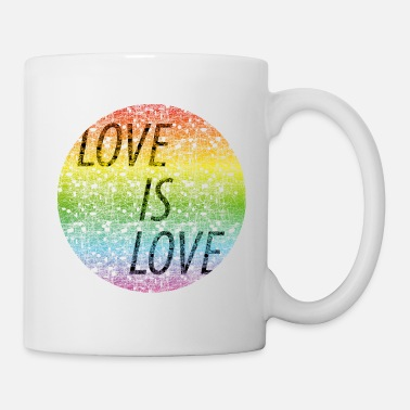 Lips Love is love - Mug