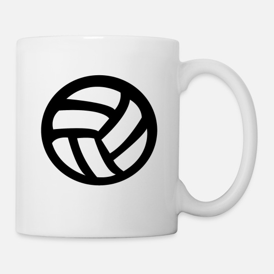 Volleyballset Tassen & Becher - Volleyball - Tasse Weiß