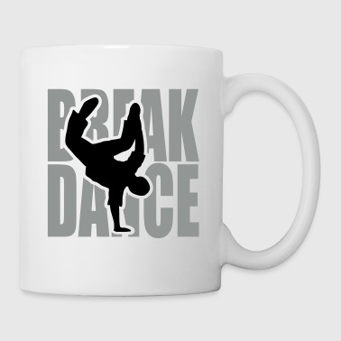 Breakdance danseur breakdancer breakdancing - Mug blanc