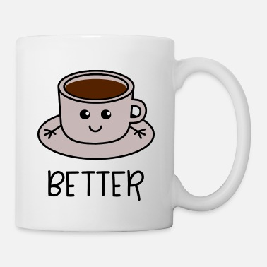 Couple Better Together 1 café coordonnés pour le couple - Mug